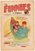 Platinum Age (1897-1937):Miscellaneous, The Funnies #25 (Dell, 1930) Condition: GD-....