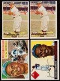 Baseball Cards:Sets, 1955-57 Topps Baseball Collection (53)....
