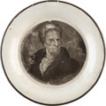Political:3D & Other Display (pre-1896), Andrew Jackson: Enoch Wood Cup Plate. ...
