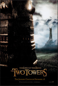 """The Lord of the Rings: The Two Towers (New Line, 2002). One Sheets (2) (27"""" X 41"""") DS Advance, Two Styles. Fan..."""