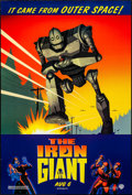 """Movie Posters:Animation, The Iron Giant (Warner Brothers, 1999). One Sheet (27"""" X 40"""") DS Advance. Animation.. ..."""