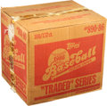 Baseball Cards:Unopened Packs/Display Boxes, 1986 Topps Baseball Traded Unopened Case With 100 Sets!...