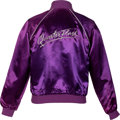 Music Memorabilia:Costumes, Elton John Personally Owned and Worn Quarterflash Tour Jacket (Circa 1982)....