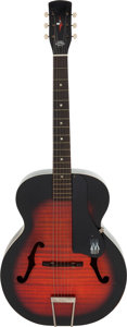 Music Memorabilia:Instruments , Elvis Presley Screen-Used Guitar from Roustabout (Paramount, 1964)....