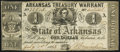 Obsoletes By State:Arkansas, (Little Rock), AR- State of Arkansas $1 July 1, 1863 Cr. 34. ...