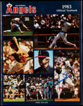 Autographs:Others, 1983 California Angels Multi-Signed Official Yearbook (35Signatures)....