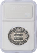 Explorers:Space Exploration, Apollo 14 Flown MS67 NGC Silver Robbins Medallion, Serial Number 259, Originally from the Personal Collection of Mission Lunar...