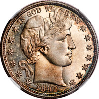 1892-O 50C -- Improperly Cleaned -- NGC Details. Unc....(PCGS# 6462)