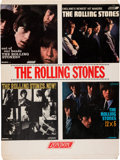 Music Memorabilia:Posters, Rolling Stones U.S. Promotional Record Store Display (London Records, Circa 1965). Extremely Rare....