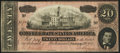 Confederate Notes:1864 Issues, T67 $20 1864 PF-17 Cr. 517.. ...