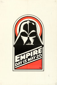 """The Empire Strikes Back (20th Century Fox, 1980). British Royal Charity World Premier Double Crown (20"""" X 30"""")..."""