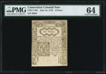 Colonial Notes:Connecticut, Connecticut June 19, 1776 6d PMG Choice Uncirculated 64.. ...