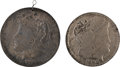 Political:Tokens & Medals, [William McKinley]: Pair of Bryan Dollars. ... (Total: 2 Items)