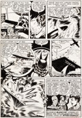 Original Comic Art:Panel Pages, Joe Kubert All-New Comics Unpublished Panel Page OriginalArt (Harvey, c. 1947)....