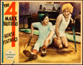 """Movie Posters:Comedy, Horse Feathers (Paramount, 1932). Lobby Card (11"""" X 14"""").. ..."""