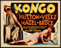 """Movie Posters:Horror, Kongo (MGM, 1932). Title Lobby Card (11"""" X 14"""").. ..."""
