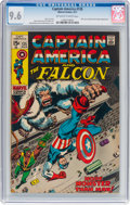 Silver Age (1956-1969):Superhero, Captain America #135 (Marvel, 1971) CGC NM+ 9.6 Off-white to white pages....