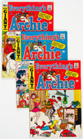Bronze Age (1970-1979):Humor, Everything's Archie Group of 73 (Archie, 1969-91) Condition:Average VG.... (Total: 73 Comic Books)