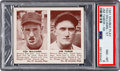 Baseball Cards:Singles (1940-1949), 1941 Double Play Ted Williams/Tabor #57/58 PSA NM-MT 8. ...