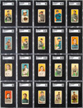 Baseball Cards:Sets, 1909-11 T206 White Border Baseball Near Set (400+) Plus Extras (525 Total Cards). ...