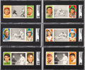 Baseball Cards:Lots, 1912 T202 Hassan Triple Folders Baseball Collection (28). ...