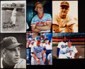 Autographs:Photos, Hall of Fame Manager Signed Photograph Lot of 6.. ... (Total: 6item)