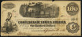 Confederate Notes:1862 Issues, T40 $100 1862 PF-1 Cr. 209 Plate State II.. ...