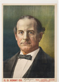Political:Posters & Broadsides (1896-present), William Jennings Bryan: 1900 Stone Lithograph Advertising Poster....