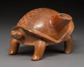 Pre-Columbian:Ceramics, A Large Colima Turtle Vessel...