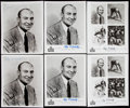 Autographs:Photos, Ray Flaherty Signed Photograph Lot of 9. ...