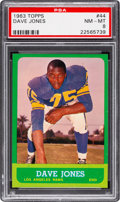 Football Cards:Singles (1960-1969), 1963 Topps Deacon Jones #44 PSA NM-MT 8....