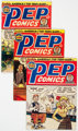 Pep Comics Group of 18 (Archie, 1949-66) Condition: Average VG/FN.... (Total: 18 Comic Books)