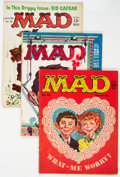 Magazines:Mad, MAD Magazine Group of 51 (EC, 1959-79) Condition: Average VG.... (Total: 51 Comic Books)