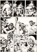 Original Comic Art:Panel Pages, Mike Ploog The Savage Sword of Conan #34 Unpublished StoryPage 5 Original Art (Marvel, 1978)....