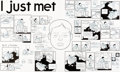 """Original Comic Art:Complete Story, Chris Ware Building Stories (#nn) Complete 2-Page Story """"IJust Met (the Greatest Chick)"""" Original Art (Building S..."""