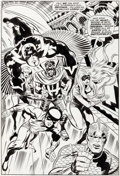 Original Comic Art:Splash Pages, Jack Kirby and Joe Sinnott Fantastic Four #83 Splash Page 10 The Inhumans Original Art (Marvel, 1969)....