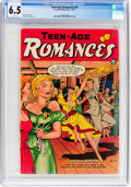 Golden Age (1938-1955):Romance, Teen-Age Romances #18 (St. John, 1951) CGC FN+ 6.5 White pages....