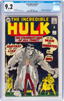 Featured item image of The Incredible Hulk #1 (Marvel, 1962) CGC NM- 9.2 White pages....