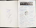 Autographs:Others, The Pictorial History of Baseball Multi-Signed Book withMickey Mantle....