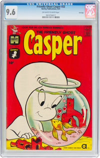 Friendly Ghost Casper #33 File Copy (Harvey, 1961) CGC NM+ 9.6 Off-white to white pages