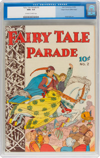Fairy Tale Parade #2 Mile High Pedigree (Dell, 1942) CGC NM+ 9.6 Off-white to white pages