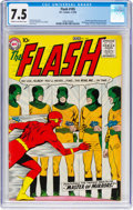 Silver Age (1956-1969):Superhero, The Flash #105 (DC, 1959) CGC VF- 7.5 Cream to off-white pages....
