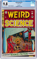 Golden Age (1938-1955):Science Fiction, Weird Science #8 Gaines File Pedigree 9/12 (EC, 1951) CGC NM/MT 9.8 Off-white to white pages....