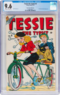 Golden Age (1938-1955):Humor, Tessie the Typist #8 Mile High Pedigree (Timely, 1947) CGC NM+ 9.6 Off-white to white pages....