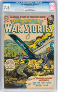 Golden Age (1938-1955):War, Star Spangled War Stories #3 (DC, 1952) CGC VF- 7.5 Off-white towhite pages. ...