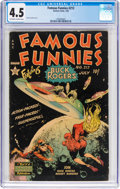 Golden Age (1938-1955):Science Fiction, Famous Funnies #212 (Eastern Color, 1954) CGC VG+ 4.5 Off-white to white pages....