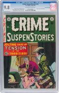Golden Age (1938-1955):Crime, Crime SuspenStories #14 Gaines File Pedigree 6/12 (EC, 1952) CGC NM/MT 9.8 Off-white to white pages....