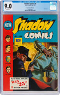 Golden Age (1938-1955):Crime, Shadow Comics #5 Mile High Pedigree (Street & Smith, 1940) CGC VF/NM 9.0 White pages....
