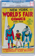 Golden Age (1938-1955):Superhero, New York World's Fair Comics 1940 (DC, 1940) CGC FN/VF 7.0 Light tan to off-white pages....