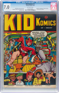 Golden Age (1938-1955):Superhero, Kid Komics #1 (Timely, 1943) CGC FN/VF 7.0 Off-white pages....